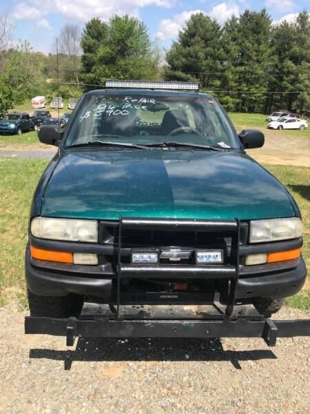 1998 Chevrolet S-10 for sale at Guarantee Auto Galax in Galax VA