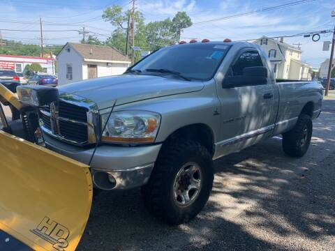 2006 Dodge Ram Pickup 2500 for sale at Charles and Son Auto Sales in Totowa NJ