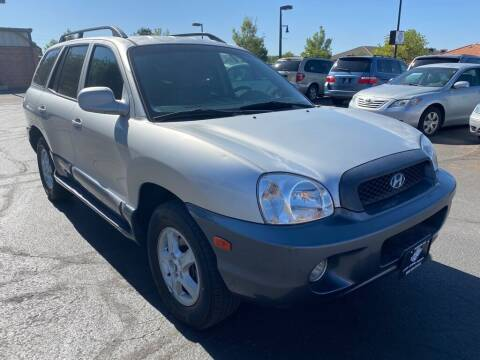 2003 Hyundai Santa Fe for sale at Robert Judd Auto Sales in Washington UT