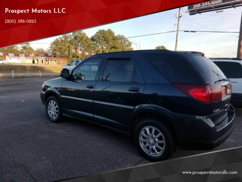 2005 Buick Rendezvous for sale at Prospect Motors LLC in Adamsville AL