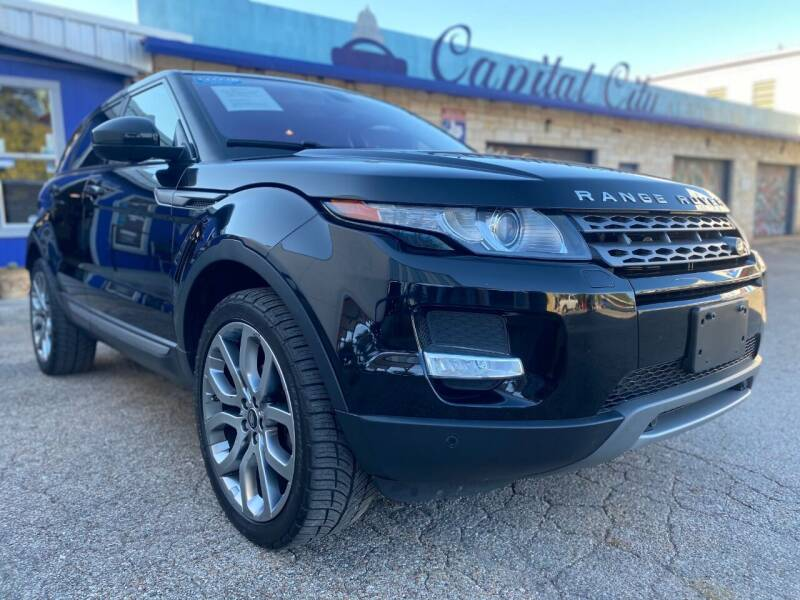 2015 Land Rover Range Rover Evoque for sale at Capital City Automotive in Austin TX