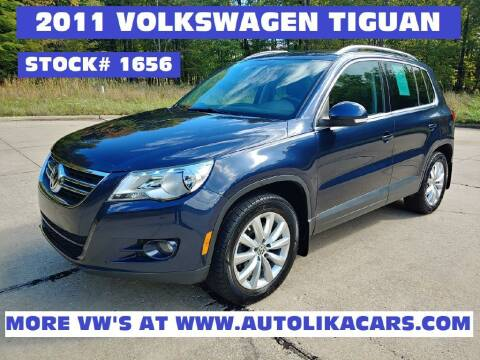 2011 Volkswagen Tiguan for sale at Autolika Cars LLC in North Royalton OH