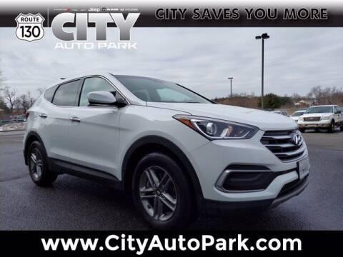 2018 Hyundai Santa Fe Sport for sale at City Auto Park in Burlington NJ