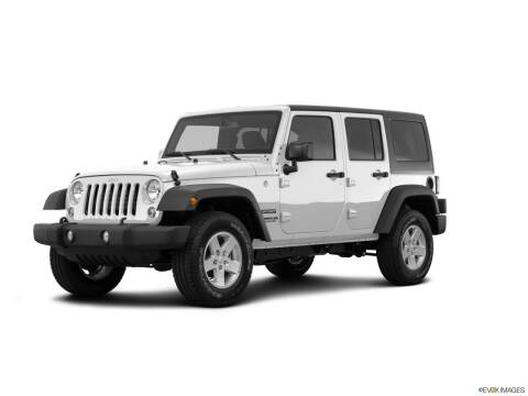2016 Jeep Wrangler Unlimited for sale at Bourne's Auto Center in Daytona Beach FL