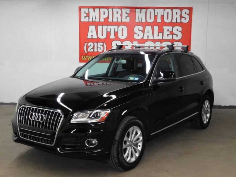2014 Audi Q5 for sale at EMPIRE MOTORS AUTO SALES in Philadelphia PA