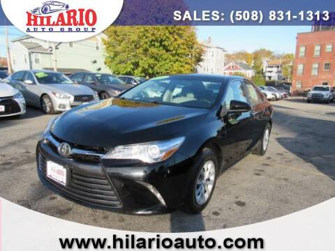 2016 Toyota Camry for sale at Hilario's Auto Sales in Worcester MA