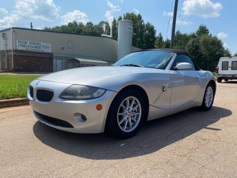 2005 BMW Z4 for sale at Dreamers Auto Sales in Statham GA
