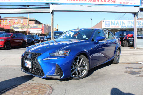 2017 Lexus IS 200t for sale at MIKEY AUTO INC in Hollis NY