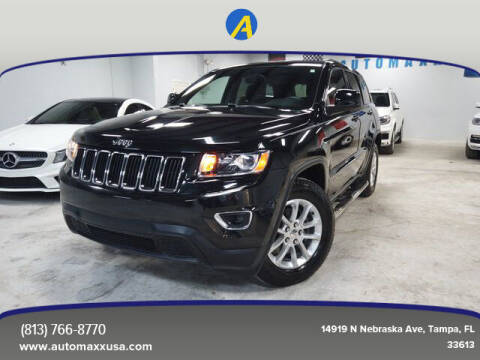 2015 Jeep Grand Cherokee for sale at Automaxx in Tampa FL