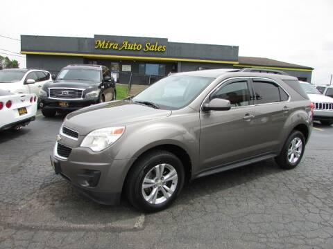 2011 Chevrolet Equinox for sale at MIRA AUTO SALES in Cincinnati OH