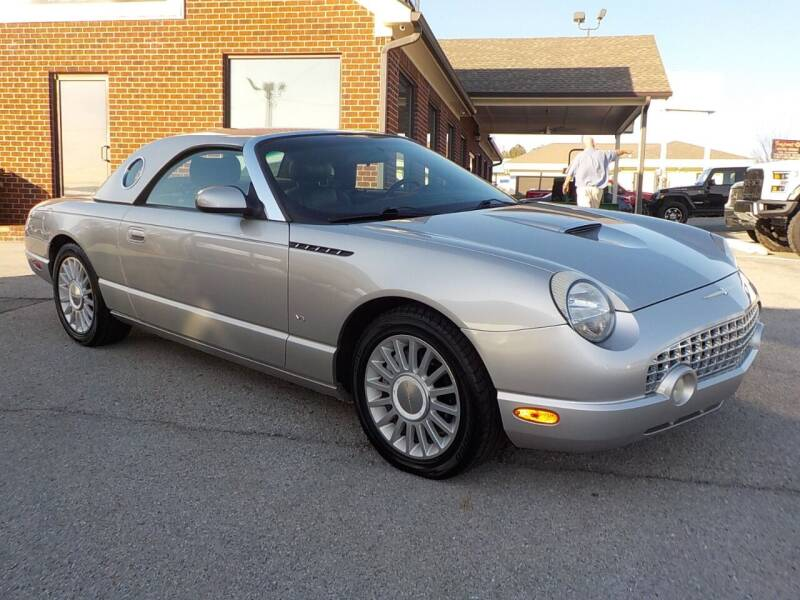 2004 Ford Thunderbird for sale at C & C MOTORS in Chattanooga TN