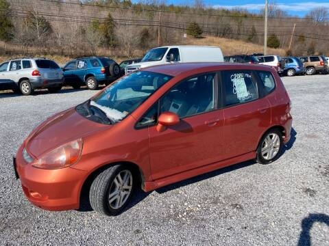 2008 Honda Fit for sale at Bailey's Auto Sales in Cloverdale VA