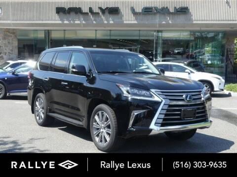2017 Lexus LX 570 for sale at RALLYE LEXUS in Glen Cove NY