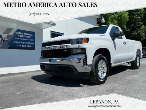 2020 Chevrolet Silverado 1500 for sale at METRO AMERICA AUTO SALES of Lebanon in Lebanon PA