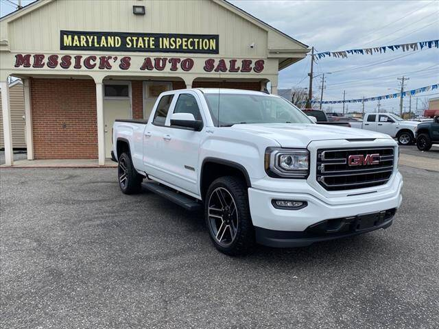 2017 GMC Sierra 1500 for sale at Messick's Auto Sales in Salisbury MD