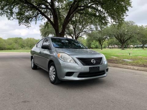 2012 Nissan Versa for sale at 210 Auto Center in San Antonio TX