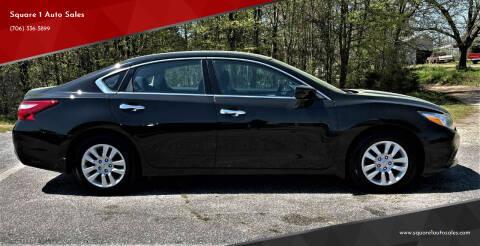 2017 Nissan Altima for sale at Square 1 Auto Sales - Commerce in Commerce GA