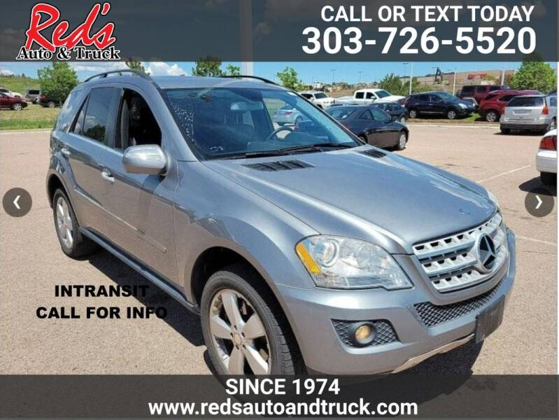 2010 Mercedes-Benz M-Class for sale at Red's Auto and Truck in Longmont CO