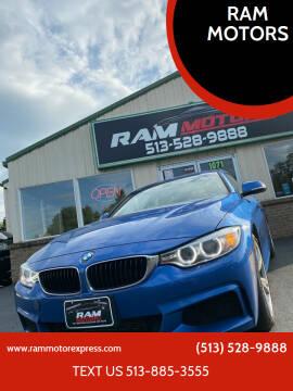 2014 BMW 4 Series for sale at RAM MOTORS in Cincinnati OH