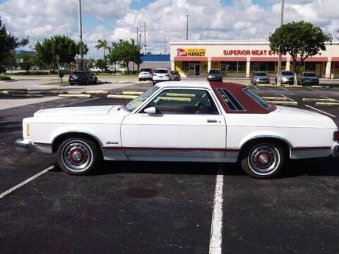 1978 Ford Granada for sale at Classic Car Deals in Cadillac MI