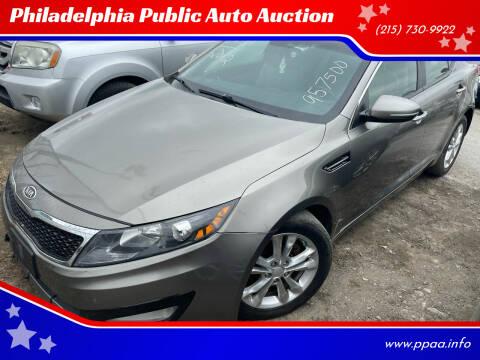 2012 Kia Optima for sale at Philadelphia Public Auto Auction in Philadelphia PA