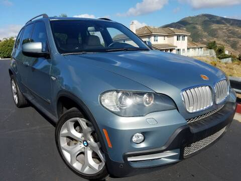 2008 BMW X5 for sale at Trini-D Auto Sales Center in San Diego CA