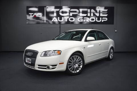 2006 Audi A4 for sale at TOPLINE AUTO GROUP in Kent WA