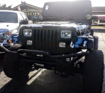 1995 Jeep Wrangler for sale at Celebrity Auto Sales in Port Saint Lucie FL