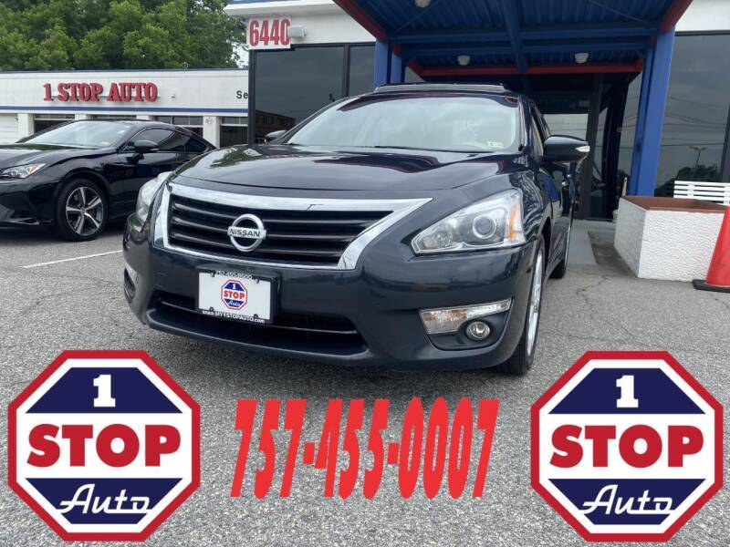 2013 Nissan Altima for sale at 1 Stop Auto in Norfolk VA