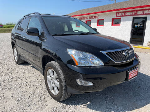 2008 Lexus RX 350 for sale at Sarpy County Motors in Springfield NE