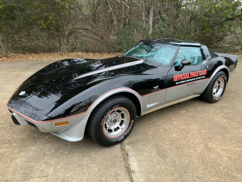 1978 Chevrolet Corvette for sale at TROPHY MOTORS in New Braunfels TX