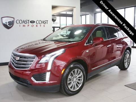2017 Cadillac XT5 for sale at Coast to Coast Imports in Fishers IN