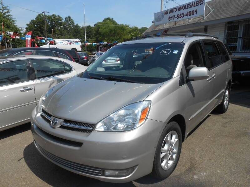 2005 Toyota Sienna for sale at N H AUTO WHOLESALERS in Roslindale MA