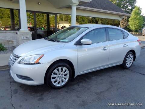 2013 Nissan Sentra for sale at DEALS UNLIMITED INC in Portage MI