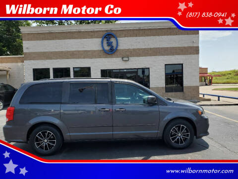 2017 Dodge Grand Caravan for sale at Wilborn Motor Co in Fort Worth TX