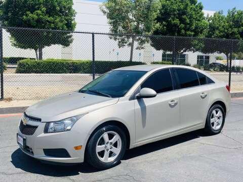 2014 Chevrolet Cruze for sale at CARLIFORNIA AUTO WHOLESALE in San Bernardino CA