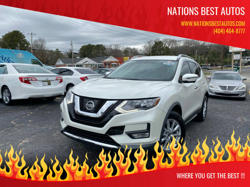 2017 Nissan Rogue for sale at Nations Best Autos in Decatur GA