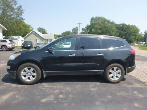 2010 Chevrolet Traverse for sale at JIM WOESTE AUTO SALES & SVC in Long Prairie MN