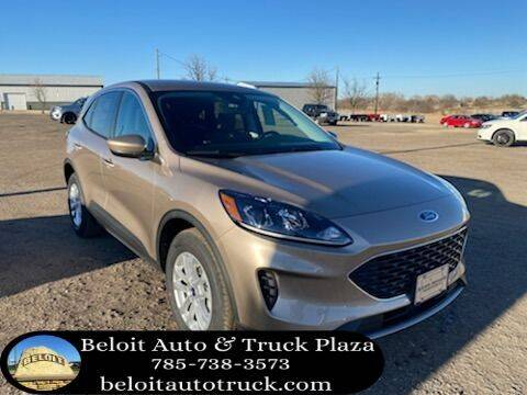 2021 Ford Escape for sale at BELOIT AUTO & TRUCK PLAZA INC in Beloit KS