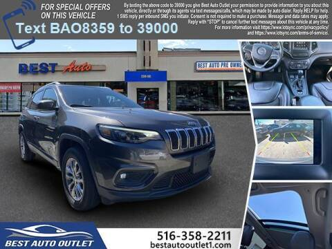 2019 Jeep Cherokee for sale at Best Auto Outlet in Floral Park NY