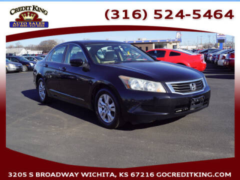 2010 Honda Accord for sale at Credit King Auto Sales in Wichita KS