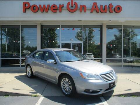 2013 Chrysler 200 for sale at Power On Auto LLC in Monroe NC