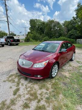 2011 Buick LaCrosse for sale at Holders Auto Sales in Waco TX