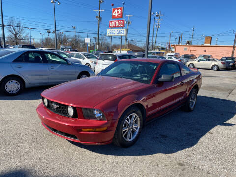 2005 Ford Mustang for sale at 4th Street Auto in Louisville KY