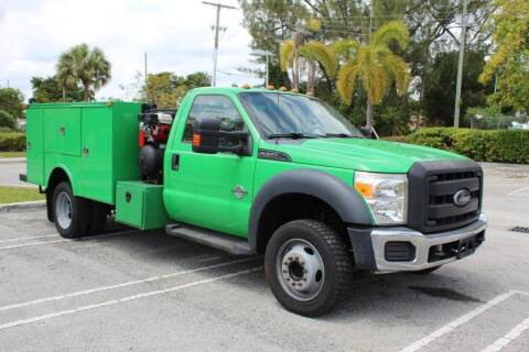 2013 Ford F-450 Super Duty for sale at Truck and Van Outlet in Miami FL