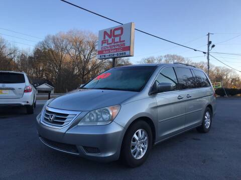 2008 Honda Odyssey for sale at No Full Coverage Auto Sales in Austell GA