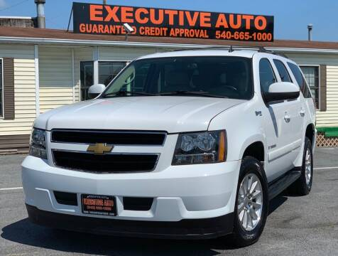 2008 Chevrolet Tahoe for sale at Executive Auto in Winchester VA