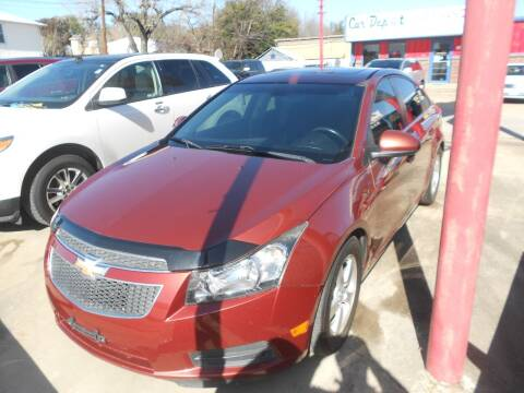 2013 Chevrolet Cruze for sale at Car Depot in Fort Worth TX