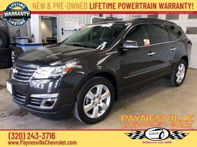 2017 Chevrolet Traverse for sale at Paynesville Chevrolet - Buick in Paynesville MN