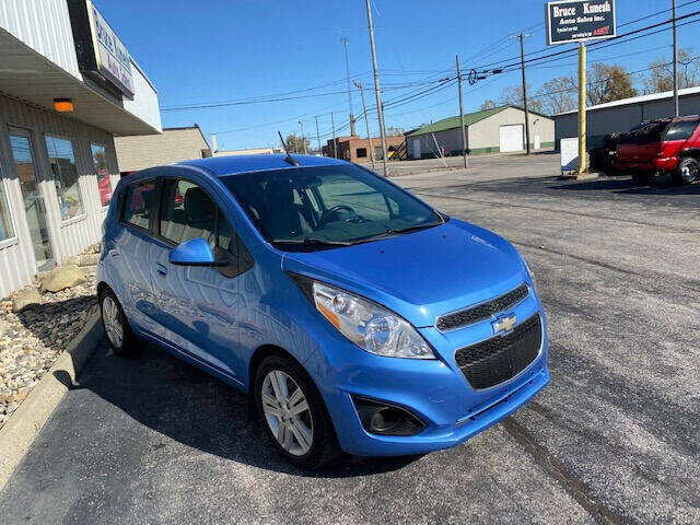 2014 Chevrolet Spark for sale at Bruce Kunesh Auto Sales Inc in Defiance OH